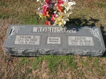 ROBINSON, EDITH - Cross County, Arkansas   EDITH ROBINSON - Arkansas Gravestone Photos
