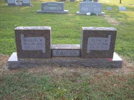 ROBINSON, FRANK M - Cross County, Arkansas   FRANK M ROBINSON - Arkansas Gravestone Photos
