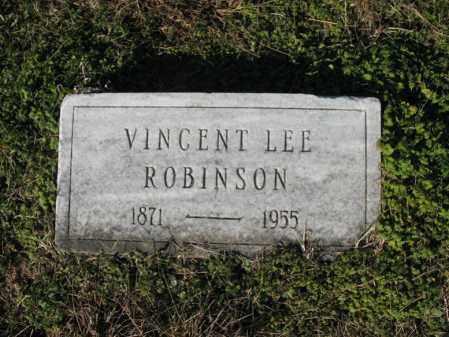ROBINSON, VINCENT LEE - Cross County, Arkansas   VINCENT LEE ROBINSON - Arkansas Gravestone Photos