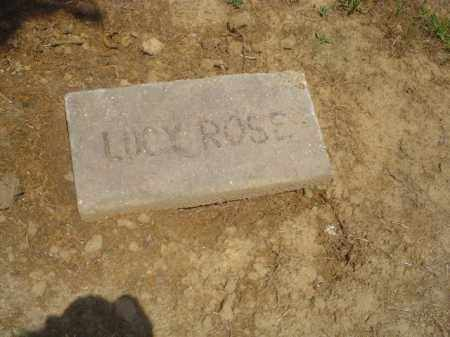 ROSE, LUCY - Cross County, Arkansas | LUCY ROSE - Arkansas Gravestone Photos