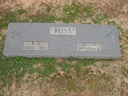 ROSS, ARZULA - Cross County, Arkansas | ARZULA ROSS - Arkansas Gravestone Photos