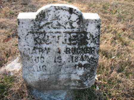 RUCKER, MARY A - Cross County, Arkansas | MARY A RUCKER - Arkansas Gravestone Photos