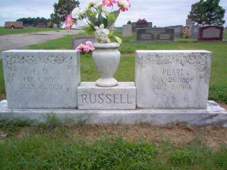 RUSSELL, PEARL - Cross County, Arkansas   PEARL RUSSELL - Arkansas Gravestone Photos