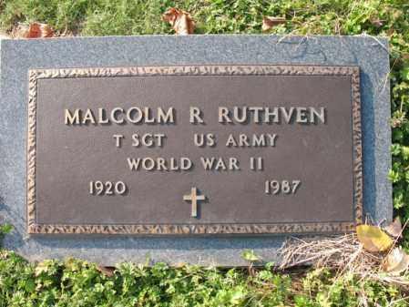 RUTHVEN (VETERAN WWII), MALCOM R - Cross County, Arkansas   MALCOM R RUTHVEN (VETERAN WWII) - Arkansas Gravestone Photos