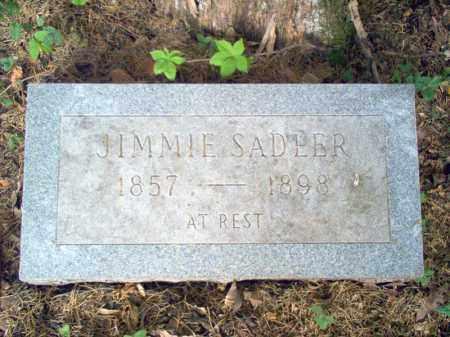 SADLER, JIMMIE - Cross County, Arkansas | JIMMIE SADLER - Arkansas Gravestone Photos