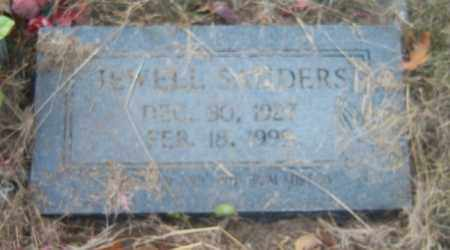 SANDERS, JEWELL - Cross County, Arkansas | JEWELL SANDERS - Arkansas Gravestone Photos