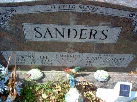 SANDERS, SIBBIE - Cross County, Arkansas | SIBBIE SANDERS - Arkansas Gravestone Photos