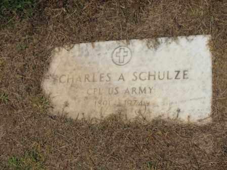 SCHULZE (VETERAN), CHARLES A - Cross County, Arkansas | CHARLES A SCHULZE (VETERAN) - Arkansas Gravestone Photos