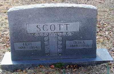 SCOTT, LEVI - Cross County, Arkansas | LEVI SCOTT - Arkansas Gravestone Photos