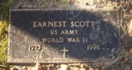 SCOTT (VETERAN WWII), EARNEST - Cross County, Arkansas | EARNEST SCOTT (VETERAN WWII) - Arkansas Gravestone Photos