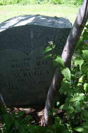"SCRUGGS, WILLIE MAE ""MAMA KID"" - Cross County, Arkansas | WILLIE MAE ""MAMA KID"" SCRUGGS - Arkansas Gravestone Photos"