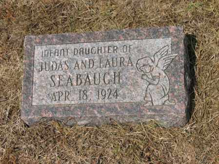 SEABAUGH, INFANT DAUGHTER - Cross County, Arkansas | INFANT DAUGHTER SEABAUGH - Arkansas Gravestone Photos