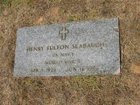 SEABAUGH (VETERAN WWII), HENRY FULTON - Cross County, Arkansas   HENRY FULTON SEABAUGH (VETERAN WWII) - Arkansas Gravestone Photos