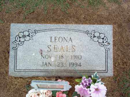 SEALS, LEONA - Cross County, Arkansas | LEONA SEALS - Arkansas Gravestone Photos