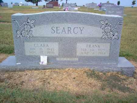 SEARCY, CHARLES FRANKLIN - Cross County, Arkansas | CHARLES FRANKLIN SEARCY - Arkansas Gravestone Photos