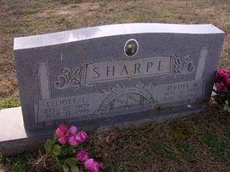SHARPE, BERTHA M - Cross County, Arkansas   BERTHA M SHARPE - Arkansas Gravestone Photos
