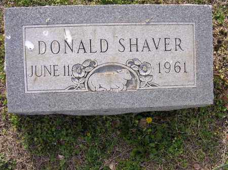 SHAVER, DONALD - Cross County, Arkansas | DONALD SHAVER - Arkansas Gravestone Photos