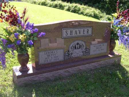 "SHAVER, LENORA L ""BETTY"" - Cross County, Arkansas | LENORA L ""BETTY"" SHAVER - Arkansas Gravestone Photos"