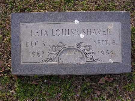 SHAVER, LETA LOUISE - Cross County, Arkansas | LETA LOUISE SHAVER - Arkansas Gravestone Photos