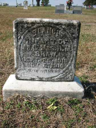 SHAW, BLANCH - Cross County, Arkansas | BLANCH SHAW - Arkansas Gravestone Photos