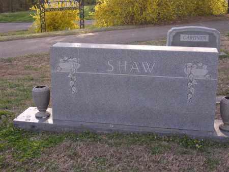 SHAW, PLOT STONE - Cross County, Arkansas | PLOT STONE SHAW - Arkansas Gravestone Photos