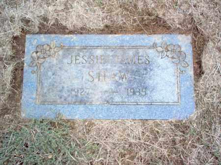 SHAW, JESSIE JAMES - Cross County, Arkansas | JESSIE JAMES SHAW - Arkansas Gravestone Photos