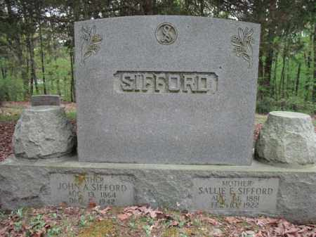 SIFFORD, JOHN A - Cross County, Arkansas | JOHN A SIFFORD - Arkansas Gravestone Photos