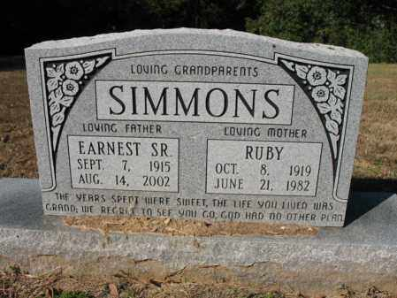 SIMMONS, RUBY - Cross County, Arkansas | RUBY SIMMONS - Arkansas Gravestone Photos
