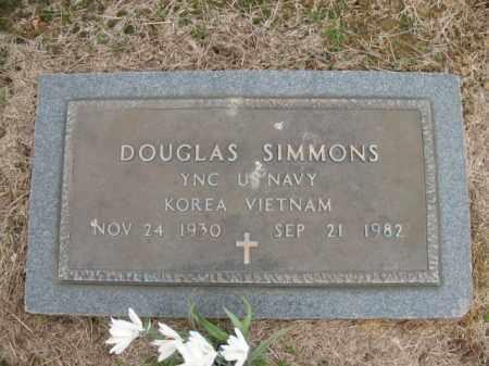 SIMMONS (VETERAN 2 WARS), DOUGLAS - Cross County, Arkansas | DOUGLAS SIMMONS (VETERAN 2 WARS) - Arkansas Gravestone Photos