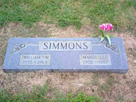 SIMMONS, WILLIAM N - Cross County, Arkansas   WILLIAM N SIMMONS - Arkansas Gravestone Photos