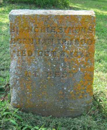 SIMONS, BLANCHIE - Cross County, Arkansas | BLANCHIE SIMONS - Arkansas Gravestone Photos