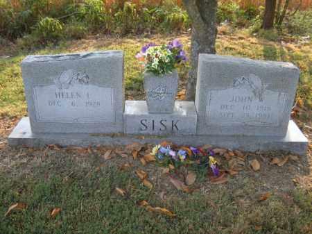 SISK, JOHN W - Cross County, Arkansas | JOHN W SISK - Arkansas Gravestone Photos