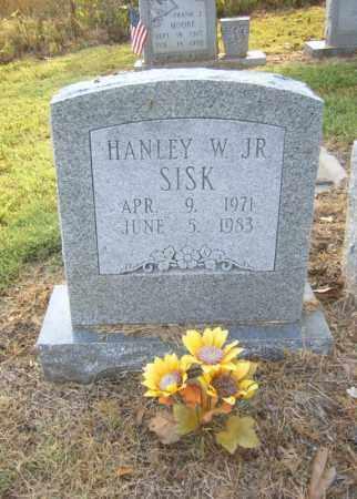 SISK, JR, HANLEY W - Cross County, Arkansas | HANLEY W SISK, JR - Arkansas Gravestone Photos