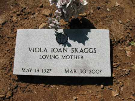 SKAGGS, VIOLA IOAN - Cross County, Arkansas | VIOLA IOAN SKAGGS - Arkansas Gravestone Photos