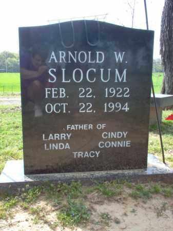SLOCUM, ARNOLD W - Cross County, Arkansas | ARNOLD W SLOCUM - Arkansas Gravestone Photos