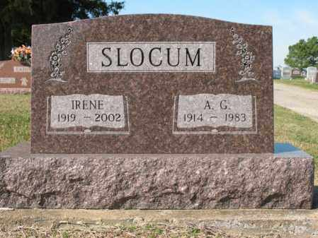 SLOCUM, A G - Cross County, Arkansas | A G SLOCUM - Arkansas Gravestone Photos