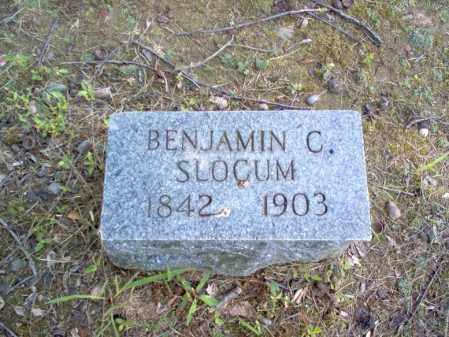 SLOCUM, BENJAMIN C - Cross County, Arkansas | BENJAMIN C SLOCUM - Arkansas Gravestone Photos