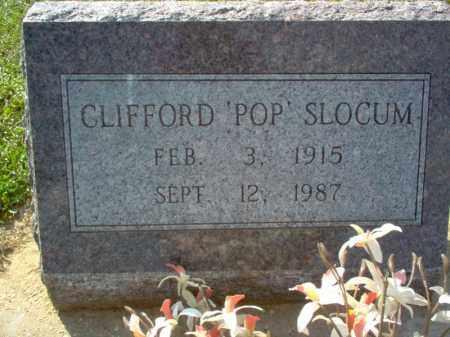 "SLOCUM, CLIFFORD ""POP"" - Cross County, Arkansas | CLIFFORD ""POP"" SLOCUM - Arkansas Gravestone Photos"