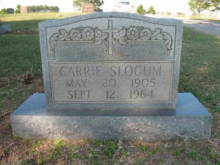 SLOCUM, CARRIE - Cross County, Arkansas | CARRIE SLOCUM - Arkansas Gravestone Photos