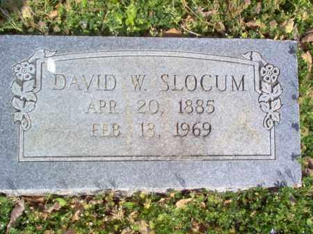 SLOCUM, DAVID W - Cross County, Arkansas | DAVID W SLOCUM - Arkansas Gravestone Photos