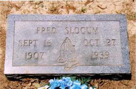 SLOCUM, FRED - Cross County, Arkansas | FRED SLOCUM - Arkansas Gravestone Photos