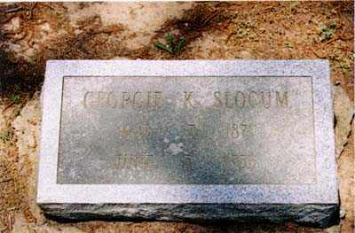 SLOCUM, GEORGIE K. - Cross County, Arkansas | GEORGIE K. SLOCUM - Arkansas Gravestone Photos