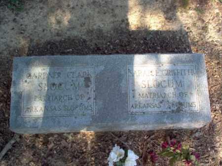 GRIFFITH SLOCUM, SARAH L - Cross County, Arkansas | SARAH L GRIFFITH SLOCUM - Arkansas Gravestone Photos