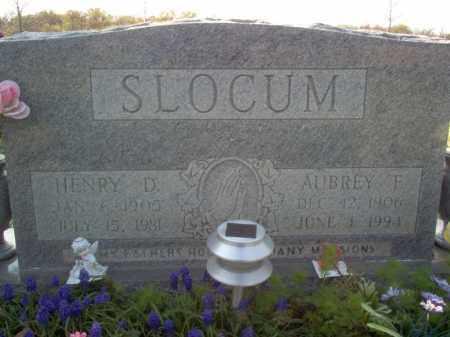 SLOCUM, HENRY D - Cross County, Arkansas | HENRY D SLOCUM - Arkansas Gravestone Photos