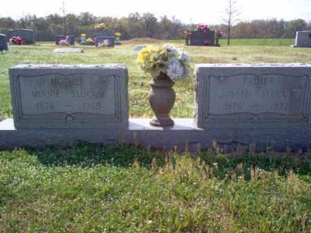 SLOCUM, MINNIE - Cross County, Arkansas | MINNIE SLOCUM - Arkansas Gravestone Photos