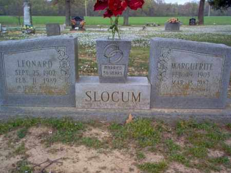 SLOCUM, MARGUERITE - Cross County, Arkansas | MARGUERITE SLOCUM - Arkansas Gravestone Photos