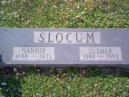 SLOCUM, NANNIE - Cross County, Arkansas | NANNIE SLOCUM - Arkansas Gravestone Photos