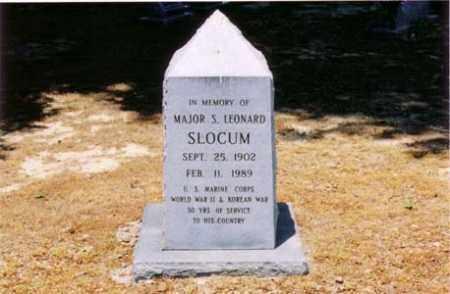 SLOCUM  (VETERAN 2 WARS), S LEONARD - Cross County, Arkansas | S LEONARD SLOCUM  (VETERAN 2 WARS) - Arkansas Gravestone Photos