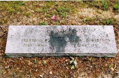 SLOCUM, PRESTON - Cross County, Arkansas | PRESTON SLOCUM - Arkansas Gravestone Photos