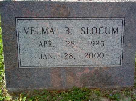 SLOCUM, VELMA B - Cross County, Arkansas | VELMA B SLOCUM - Arkansas Gravestone Photos